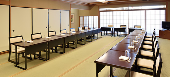 Japanese-style banquet hall